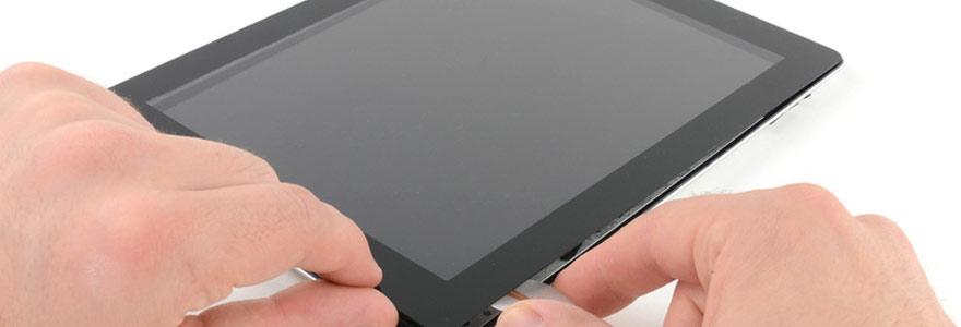 la vitre d'un iPad 2