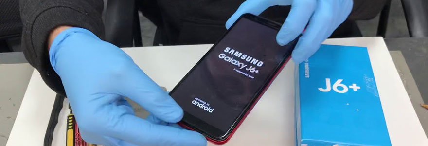 réparer son Samsung